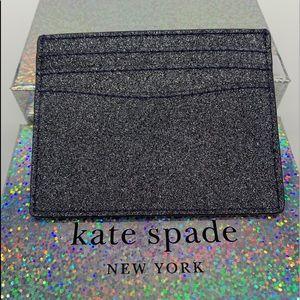 Kate Spade Lola Glitter Boxed Slim Card Ho…